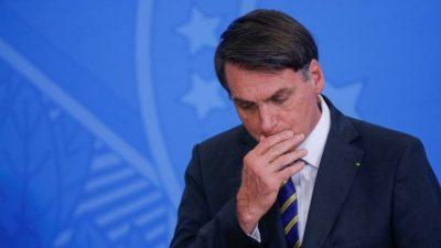 Bolsonaro se adhirió a una marcha que pide el cierre del Congreso