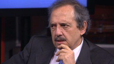 """Alfonsín afirmó que la deuda tiene un """"cumplimiento imposible"""" y cruzó a la oposición"""