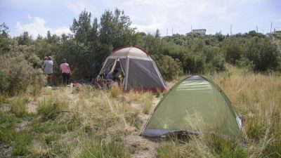 Con una nueva toma en el Alto de Bariloche, suman ocho ocupaciones de tierras en solo un mes