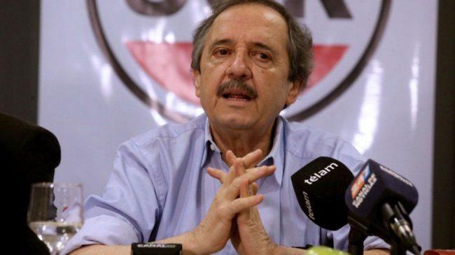 """Alfonsín pidió a la oposición que """"acompañe"""" al Gobierno en la negociación de la deuda"""