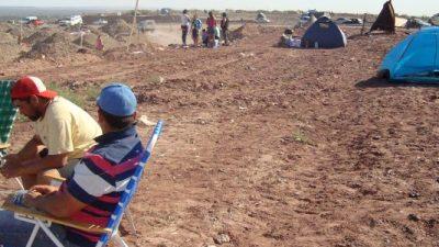 Las nuevas tomas de Neuquén ya suman más de 800 familias