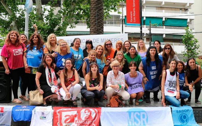 Rosario vivirá una campaña de concientización de mujeres gremialistas