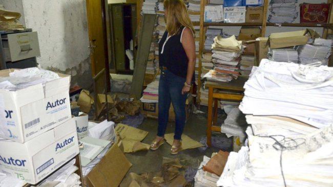Como en la Casa Rosada, pero en Neuquén: denuncian abandono del municipio