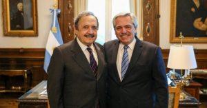 Alfonsín dijo que la Argentina «está quebrada» y reclamó «colaboración» a la oposición