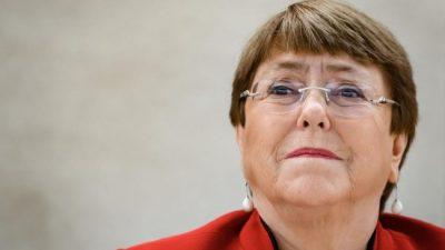 Bachelet llama a fijar responsabilidades