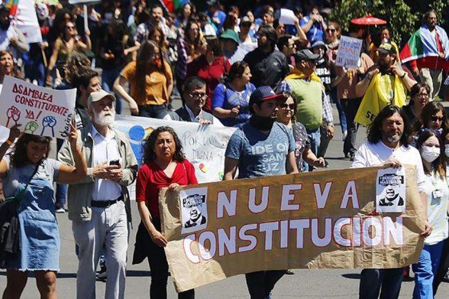 Empieza la campaña por la reforma Constitucional en Chile