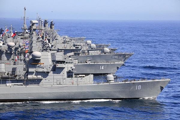 La Armada chilena se refuerza