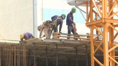 La construcción no se recupera