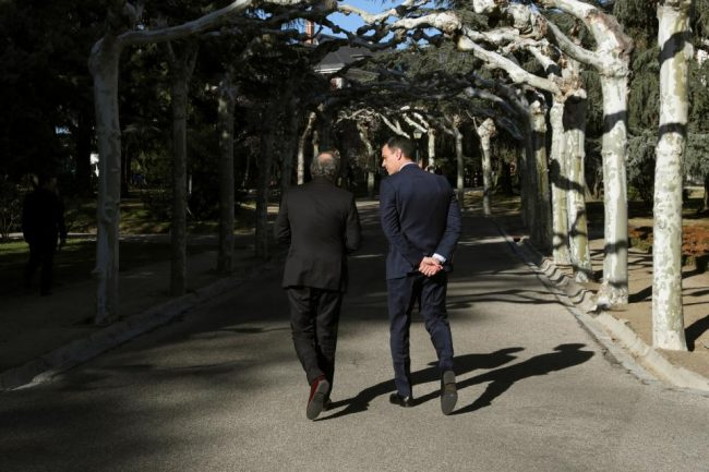 Diálogo entre España y Cataluña