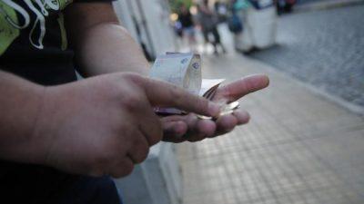 El derrumbe del salario mínimo