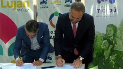 Maipú y Luján crearon nueva microrregión
