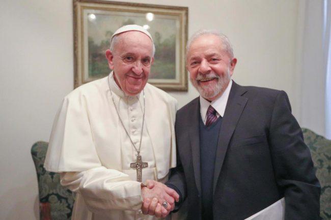 """Lula y el Papa, """"por un mundo más justo"""""""