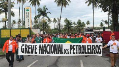 La larga huelga en Petrobras pone contra las cuerdas a Bolsonaro