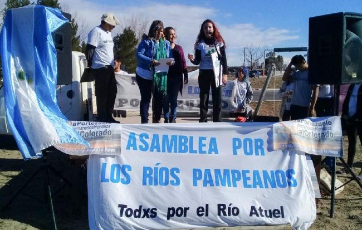 La Pampa: El río Colorado en peligro por la construcción de la represa El Portezuelo
