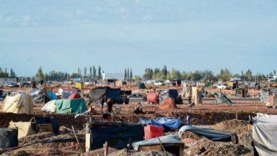 Sin acuerdo, aseguran que ya son casi 2.000 las familias en las tomas de Neuquén
