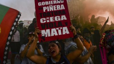 Con nuevas protestas, Chile vuelve a la calle