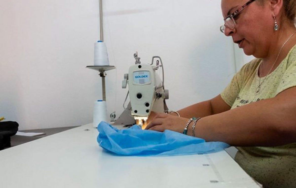 Paraná: el taller textil municipal produce elementos para prevenir la pandemia