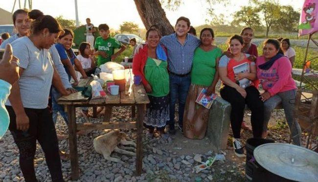 Finalmente, el agua llegó a la comunidad del Algarrobal