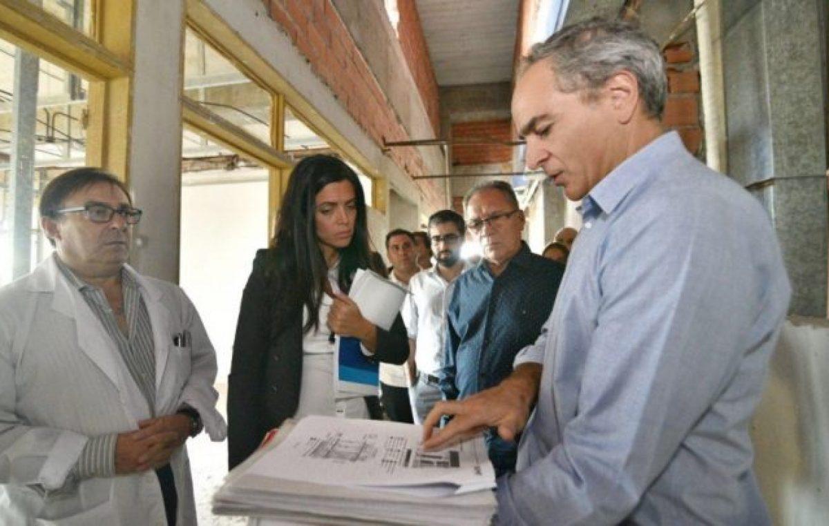Ituzaingó: El Gobierno releva obras inconclusas en el hospital que abandonó la gestión de Macri