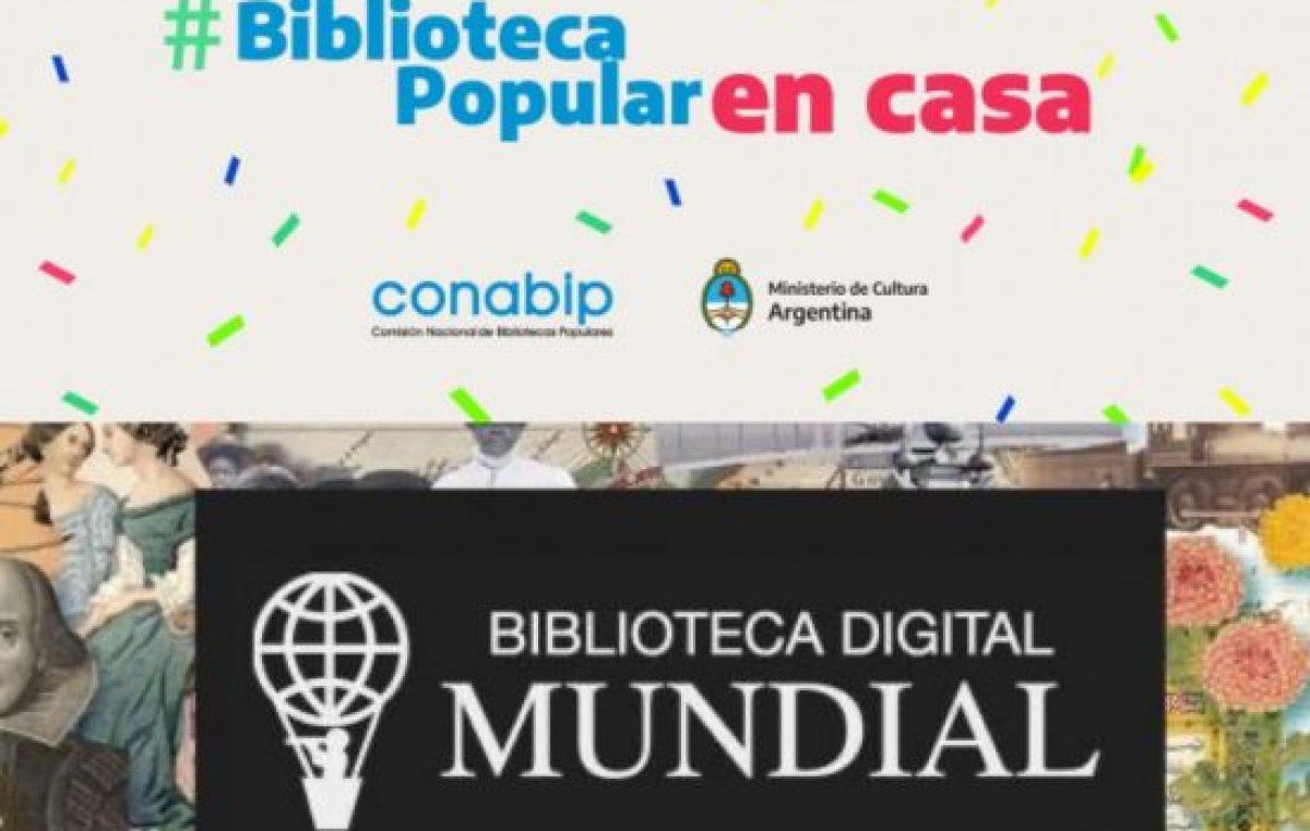 Bibliotecas populares online