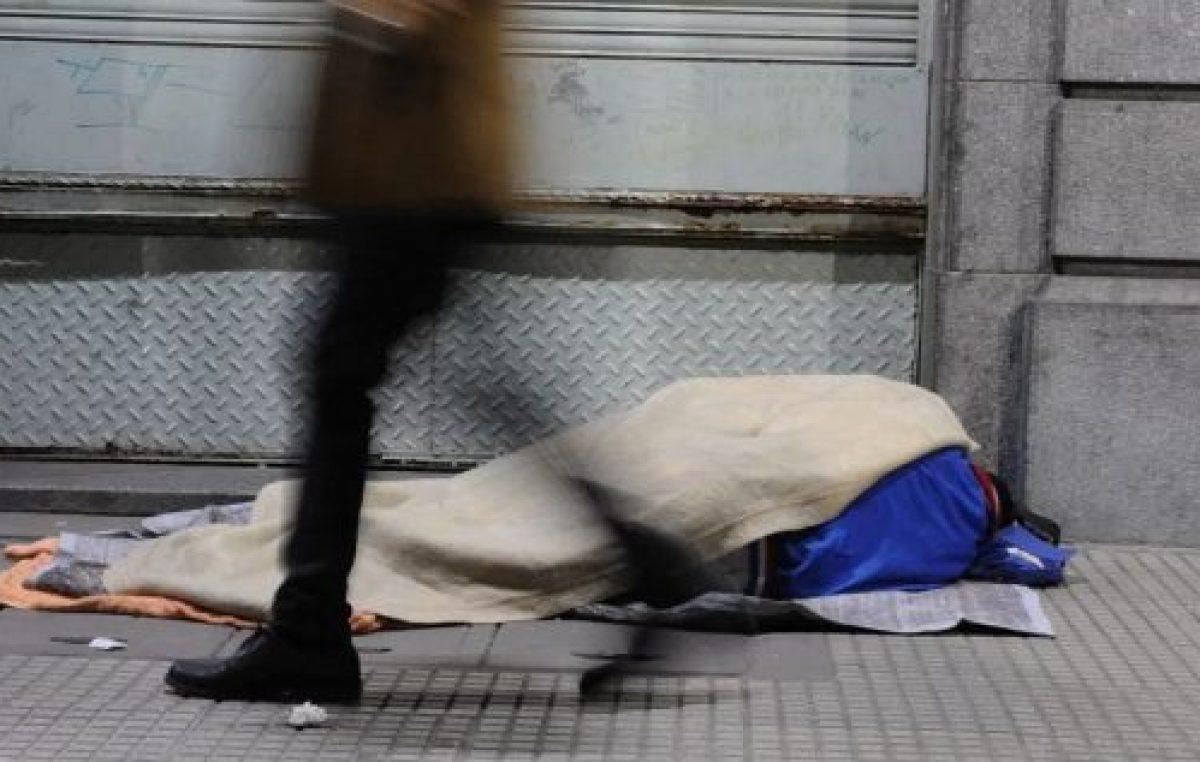 El gobierno porteño les pregunta a las personas en situación de calle si viajaron a China o Japón