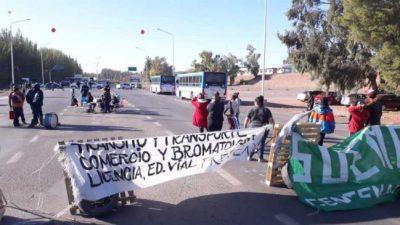 El conflicto con los municipales de Centenario se resolverá en la Justicia