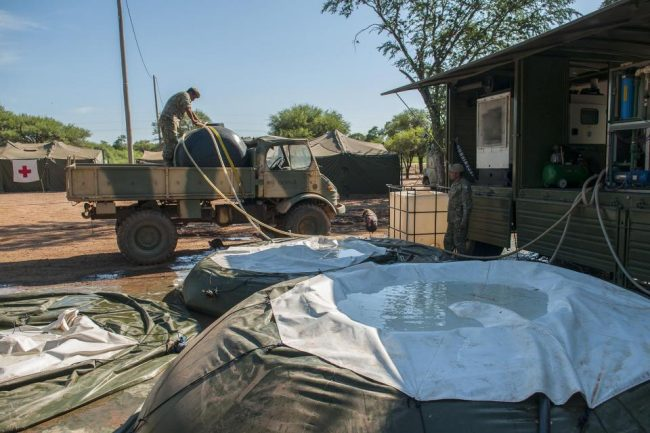 Una sola planta del Ejército provee agua a 68 comunidades originarias