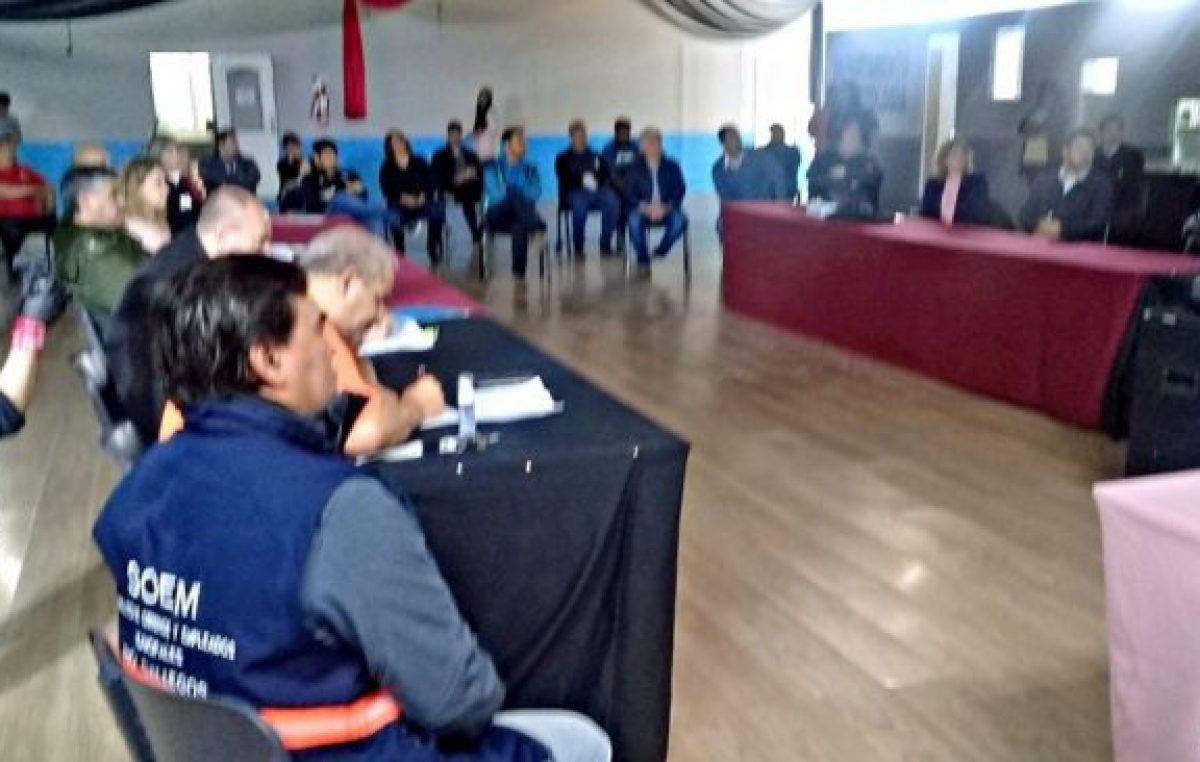Santa Cruz: Soem participa de la Junta Municipal de Protección Civil