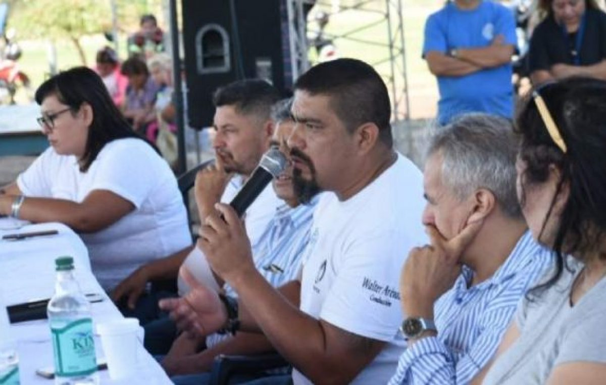 Intersindical estatal catamarqueña pide un incremento de $10.000 para municipales
