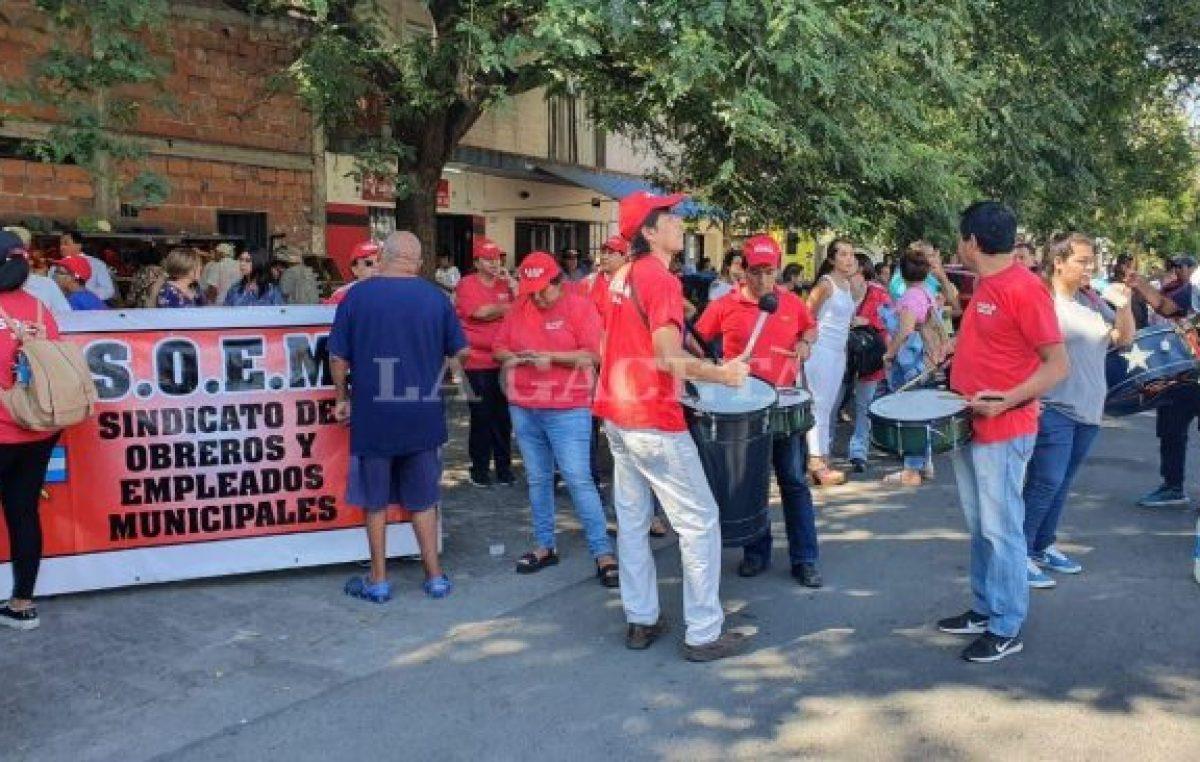 Municipales de Salta amenazan con cortar los servicios si no hay mejoras salariales