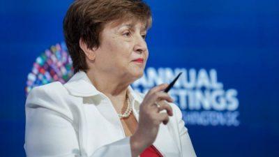 El Coronavirus quemó las recetas de austeridad del Fondo Monetario