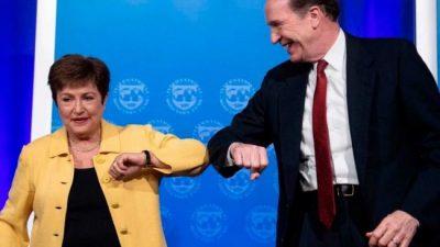 El FMI y el Banco Mundial piden la suspensión del pago de la deuda de países pobres