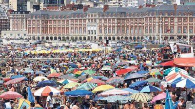 Temporada 2020 en Mar del Plata: Hubo casi 3,5 millones de turistas y fue el mejor febrero desde 1991