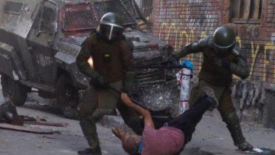 Carabineros, el brazo armado del Estado en las calles de Chile