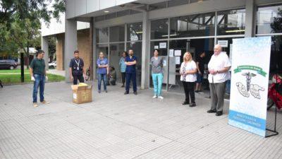 Puerto General San Martín: Instalan puesto sanitario en el Puerto Municipal para trabajadores locales