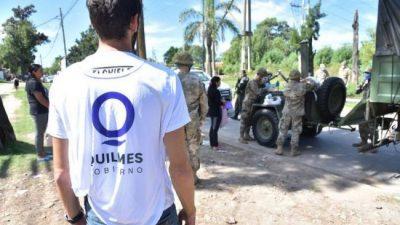 Quilmes habilitó más de 100 puntos para ayudar a los más vulnerables