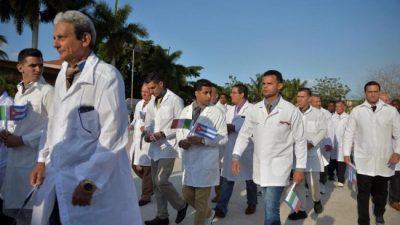 Salud bonaerense evaluará la oferta de Cuba de enviar médicos