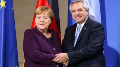 Alberto habló con Merkel sobre la deuda y políticas aplicadas por coronavirus
