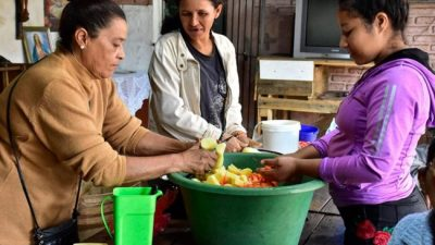 El Gobierno nacional reforzó la asistencia alimentaria a 15 municipios del conurbano bonaerense