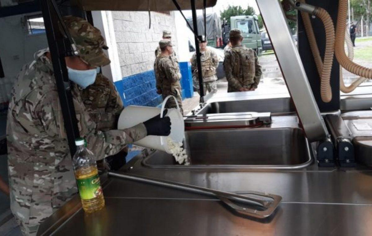 El Ejército desembarcó en La Matanza para brindar apoyo ante la emergencia por el coronavirus
