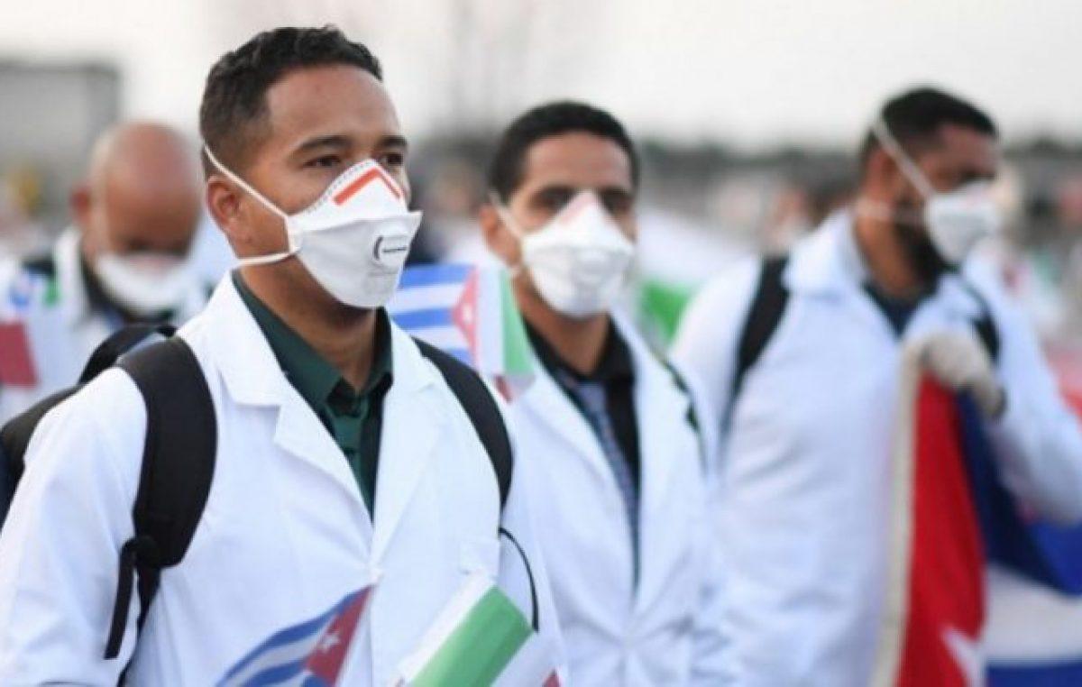 El intendente de Pehuajó quiere que los médicos cubanos se radiquen en los pueblos rurales de su distrito