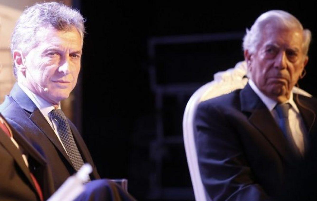 La libertad de Macri y Vargas Llosa