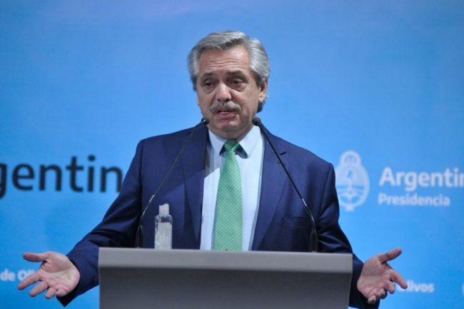 Alberto Fernández, el dirigente político con mejor imagen del país