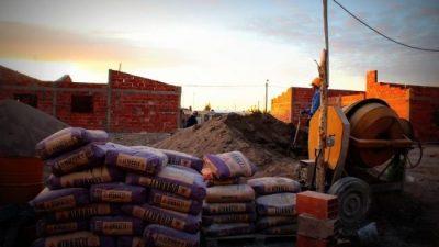 UOCRA: 13 mil obreros en Río Negro «sin salir a trabajar»