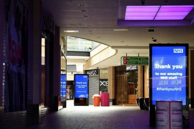 Coronavirus: prevén un desplome de la economía británica