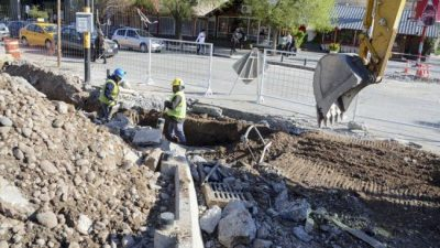 A pesar de la cuarentena, la Muni trabaja en 57 obras en la ciudad de Neuquén