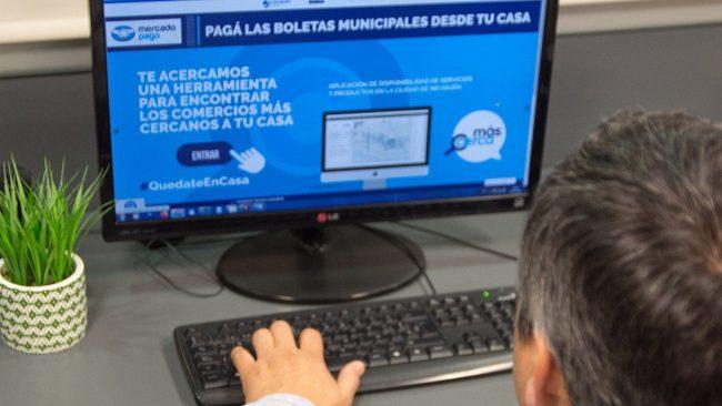 La Muni de Neuquén lanza un mercado virtual de toda la ciudad