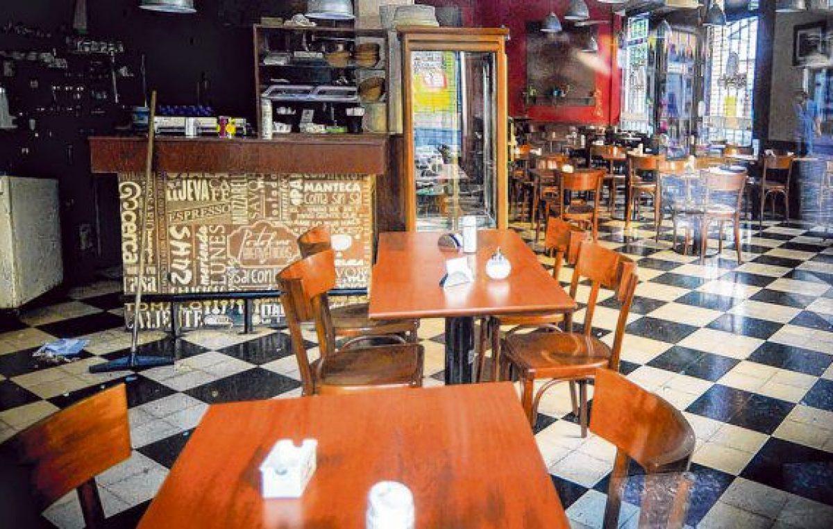 Incierto futuro para 14 mil personas que trabajan en bares y restaurantes rosarinos
