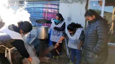 Comedores de Comodoro Rivadavia entregan más de 200 viandas por día y a veces no alcanza