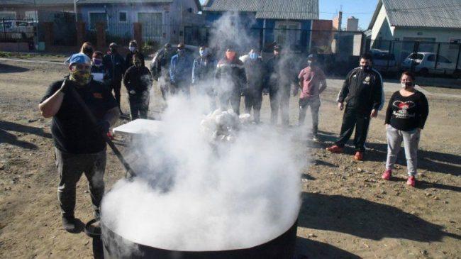 Notorio incremento de ollas populares en Caleta Olivia